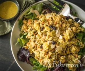 Plate of Nutritarian Food